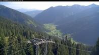 Archiv Foto Webcam Bergstation Riesnerbahn: Blick ins Tal 02:00