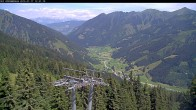 Archiv Foto Webcam Bergstation Riesnerbahn: Blick ins Tal 06:00