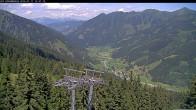 Archiv Foto Webcam Bergstation Riesnerbahn: Blick ins Tal 08:00