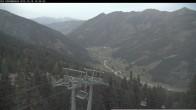 Archiv Foto Webcam Bergstation Riesnerbahn: Blick ins Tal 12:00