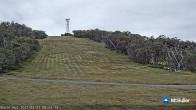 Archiv Foto Webcam Mt Buller: Burnt Hut Spur 02:00