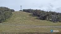 Archiv Foto Webcam Mt Buller: Burnt Hut Spur 10:00
