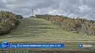 Archiv Foto Webcam Mt Buller: Burnt Hut Spur 01:00