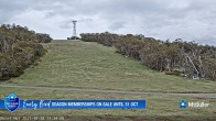 Archiv Foto Webcam Mt Buller: Burnt Hut Spur 07:00