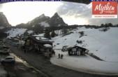 Archiv Foto Webcam Talstation Skilifte Brunni-Haggenegg 12:00