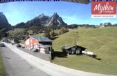 Archived image Webcam base station ski resort Brunni-Haggenegg 06:00