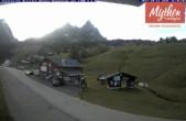 Archived image Webcam base station ski resort Brunni-Haggenegg 12:00