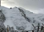 Archiv Foto Webcam Aiguille du Midi - Mont Blanc du Tacul 02:00