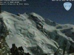 Archiv Foto Webcam Aiguille du Midi - Mont Blanc du Tacul 00:00