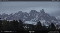 Archiv Foto Webcam Pale di San Martino 02:00