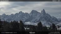 Archiv Foto Webcam Pale di San Martino 07:00
