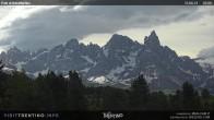 """Archived image Webcam """"Pale di San Martino"""", Alpe di Lusia Moena 02:00"""