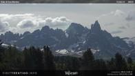 """Archived image Webcam """"Pale di San Martino"""", Alpe di Lusia Moena 04:00"""
