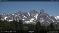 """Archived image Webcam """"Pale di San Martino"""", Alpe di Lusia Moena 08:00"""