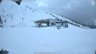 Archiv Foto Webcam Gondel Longnand - Grand Montets 00:00