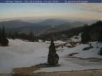Archiv Foto Webcam Bergstation Clos de la Balme Sessellift 02:00