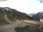 Archiv Foto Webcam Flégère am Südhang des Mont-Blanc 08:00