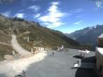 Archiv Foto Webcam Flégère am Südhang des Mont-Blanc 04:00