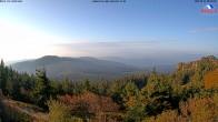 Archived image Webcam Großer Arber mountain (south) 02:00