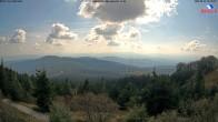Archived image Webcam Großer Arber mountain (south) 08:00