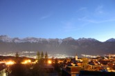 Archiv Foto Webcam Sistrans Nord: Blick nach Innsbruck 22:00