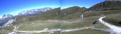Archived image Webcam Autannes chair lift - Top Station 04:00