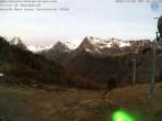 Archiv Foto Webcam Kabinenbahn Vallorcine 01:00