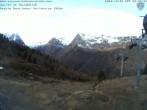 Archiv Foto Webcam Kabinenbahn Vallorcine 03:00