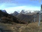 Archiv Foto Webcam Kabinenbahn Vallorcine 05:00