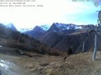 Archiv Foto Webcam Kabinenbahn Vallorcine 09:00