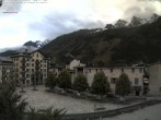 Archived image Webcam City center of Chamonix 00:00