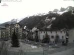 Archiv Foto Webcam Chamonix Ortszentrum 02:00