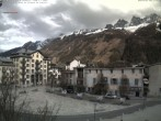 Archived image Webcam City center of Chamonix 10:00