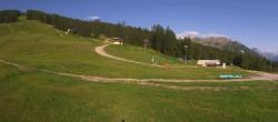 Archiv Foto Webcam Serre Ratier Panorama 02:00