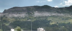 Archived image Webcam Panoramic view of Flaine 10:00