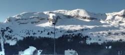 Archiv Foto Webcam Panoramablick über Flaine 02:00