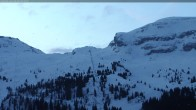 Archived image Webcam Gondel Les Grandes Platières, Flaine 02:00