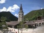 Archived image Webcam View of Clusaz village 08:00