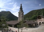 Archived image Webcam View of Clusaz village 10:00