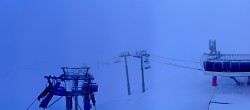 Archived image Webcam Les Arcs - top station chairlift Arcabulle 02:00
