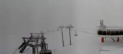 Archived image Webcam Les Arcs - top station chairlift Arcabulle 06:00