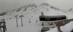 Archiv Foto Webcam Les Arcs - Bergstation Sessellift Arcabulle 02:00