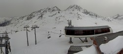 Archiv Foto Webcam Les Arcs - Bergstation Sessellift Arcabulle 06:00