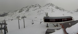 Archiv Foto Webcam Les Arcs - Bergstation Sessellift Arcabulle 10:00