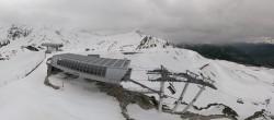 Archiv Foto Webcam Peisey Vallandry - Bergstation Sessellift Arpette 06:00