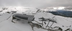 Archiv Foto Webcam Peisey Vallandry - Bergstation Sessellift Arpette 12:00