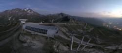 Archiv Foto Webcam Peisey Vallandry - Bergstation Sessellift Arpette 16:00