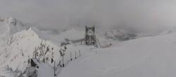 Archiv Foto Webcam Peisey Vallandry - Bergstation Gondel L`Aiguille Rouge 02:00