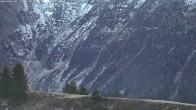 Archiv Foto Webcam Blick von Le Signal - Les Contamines 02:00