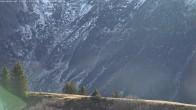 Archiv Foto Webcam Blick von Le Signal - Les Contamines 04:00